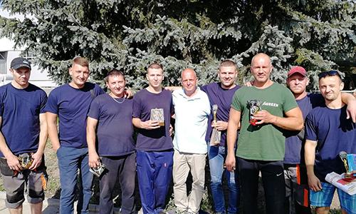 Поздравляем победителей спортивных соревнований по троеборью!