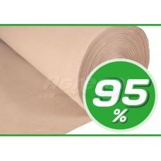 Сітка затіняюча бежева 95%