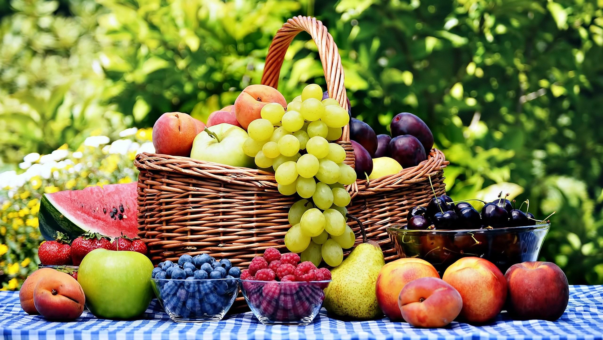 Урожайность фруктов и ягод 2017