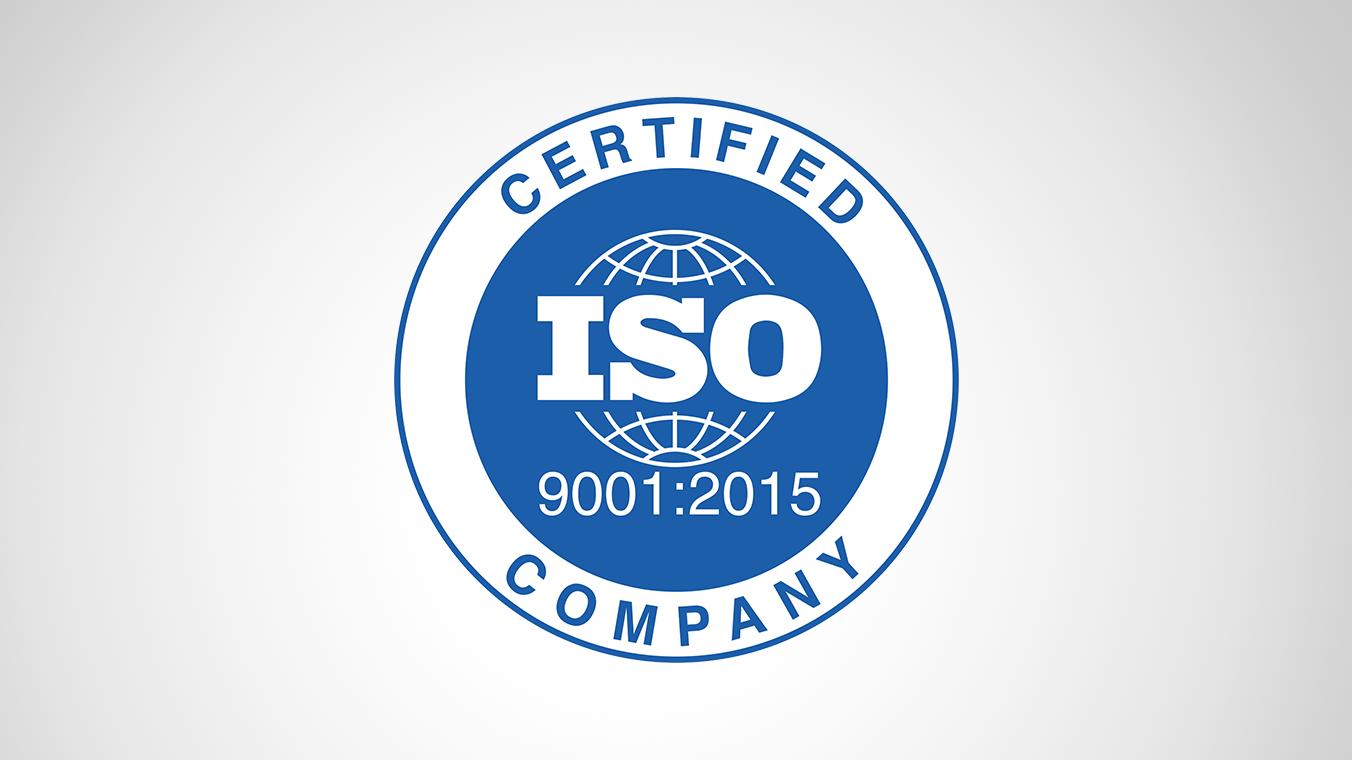 Ми отримали сертифікат якості ISO!